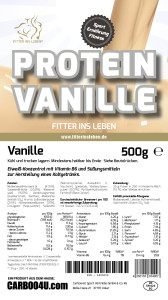 fitter ins leben - low carb - protein - shaker